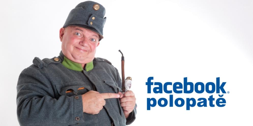 Na Facebooku je to jako na pavlači