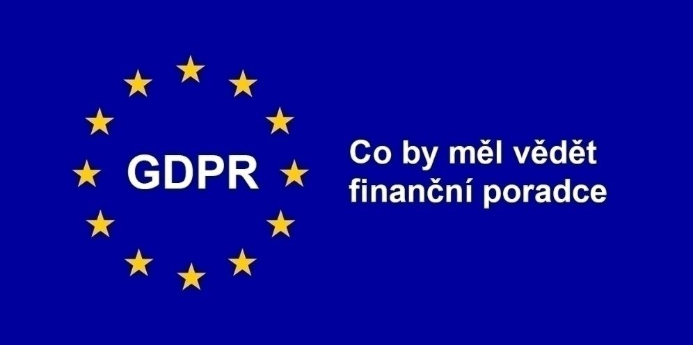 GDPR pro finanční poradce
